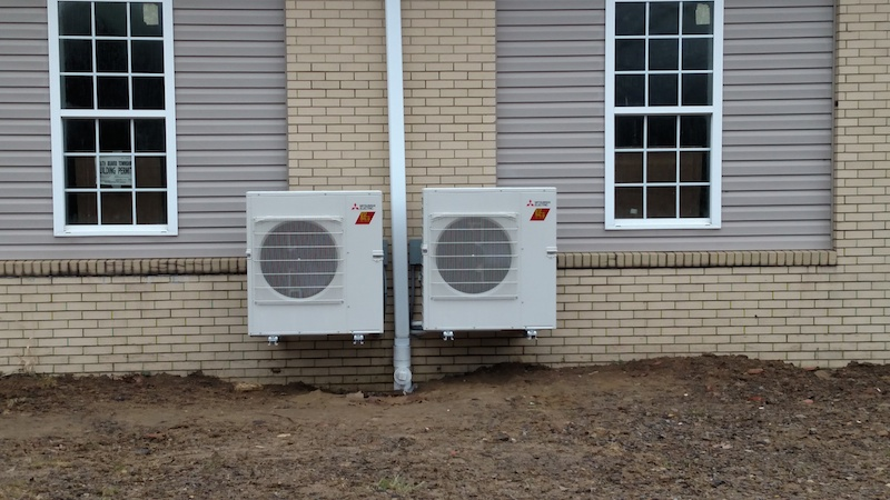 wall much ductless mount cost heating pump units heat with two mitsubishi does btu air a cooling sdc conditioner zone hyper and how